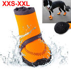 Pet Dog Puppy Warm Boots Outdoor Waterproof Anti-Slip Shoes Rain Snow Booties US