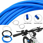 Bike Bicycle Complete Front & Rear Wire Gear Brake Cable Set Gear Kit Housing