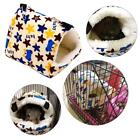 Pet Animal Nest Plush Bird Cave Cage Cat Dog Warm Hanging Bed Hut Tent Toy House