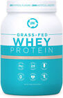 Grass Fed Whey Protein Vanilla 2lb - 100% Pure And Natural - 2 Lb 26 Servings -