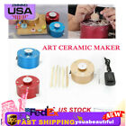 Mini Pottery Making Machine Electric Ceramic  Gold/Blue/Red Ceramic Art DIY Tool image
