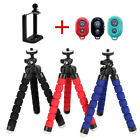 Mobile Phone Holder Flexible Octopus Tripod Bracket Selfie Stand Monopod New