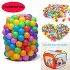 300xBall Pit Balls Play Kids Plastic Baby Ocean Soft Toys Colourful Playpens Fun