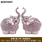 Happiness Baby Elephant Decoration Home Accessories Crafts Wedding Gift Resin