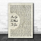I've Got So Much To Give Vintage Script Song Lyric Quote Music Print