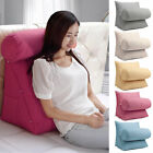 Adjustable Bed Sofa Office Neck Rest Waist Support Back Wedge Cushion Pillow New image
