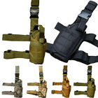 Tactical Airsoft Adjustable Pistol Gun Drop Leg Thigh Holster Pouch Holder Camo