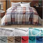 Chezmoi Collection 280GSM Microfiber Flannel Fleece Blanket Reversible Cozy Soft image