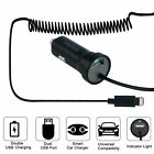 USB Fast Quick CAR Charger Adapter w/ Extra USB Cable for iPhone 6s 7 8 X 11 Pro