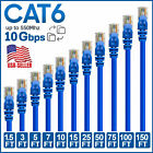 Kyпить CAT 6 Ethernet Cable Lan Network CAT6 Internet Modem Blue RJ45 Patch Cord LOT на еВаy.соm