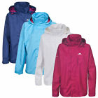 Trespass LANNA Womens Ladies Windproof Rain Coat Waterproof Jacket