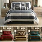 Kyпить Chezmoi Collection Kenton 7-Piece Micro Suede Patchwork Square Comforter Set на еВаy.соm