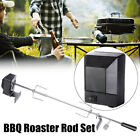 BBQ Rotisserie Spit Grill Roaster Rod Chicken Motor 2.4Kg Stainless Steel Kit