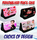 BETTY BOOP PERSONALISED PENCIL CASE - choice of design £8.25 GBP on eBay