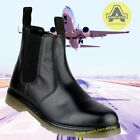 Amblers CHELSEA DEALER BOOTS Leather Black AIR CUSHION Uniform/Police/Security