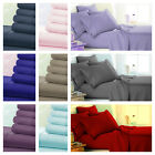 "Egyptian Comfort 1900 Series 4 Piece Bed Sheet Set Deep Pocket Fitted Sheets 16"" image"