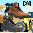 Mens Caterpillar Steel Toe Cap Safety Median Boots CAT Work Boots S3 Size 6-13