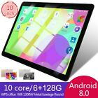 "10"" inch Tablet PC 6 128G Android 8.0 Pad Dual SIM Dual Camera GPS Wi-Fi Phablet"