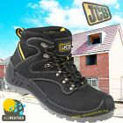 JCB LEATHER WATERPROOF SAFETY WORK BOOTS BACKHOE COMPOSITE TOE CAP Sz UK 4-12