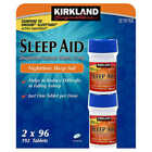 Kirkland Signature Sleep Aid Doxylamine Succinate 25mg Fall Asleep Fast Tablets $7.2 USD on eBay