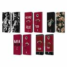 OFFICIAL NBA 2019/20 MIAMI HEAT LEATHER BOOK WALLET CASE FOR MOTOROLA PHONES on eBay