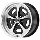 "American Racing VN501 Mono Cast 15x8 5x4.5"" +0 Black/Machined Wheel Rim 15"" Inch $122.99 USD on eBay"