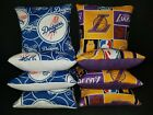 Set Of 8 Los Angeles Dodgers Lakers Cornhole Bags FREE SHIPPING on Ebay