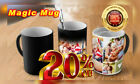 Custom Magic Coffee Cup Personalized Image Photo Text Color Changing Mug Gif