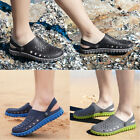 Mens Beach Sandals Slippers Mens Clogs Mules Sports Summer Hole Shoes Flip Flop