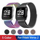 Women Men Fit For Fitbit Versa / Versa 2 Metal Bands Replacement Stainless Steel image