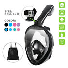 Kyпить Snorkel Mask Full Face Diving Scuba Free Breathing Diving Mask for Adult Kids на еВаy.соm