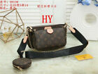 Womens Monogram Handbag Clutch Crossbody Shoulder Bag Tote Purse Hobo Satchel