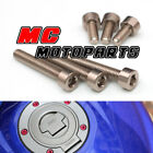 Aluminum Fuel Cap Bolts Kit For Triumph Tiger 1050 06-17 Daytona 600/650 $19.8 USD on eBay