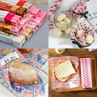Food Paper Soap Greaseproof Wrapping 50PcsPackaging Paper Wax Paper Disposable