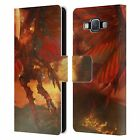 SIMONE GATTERWE DRAGONS AND DUNGEONS LEATHER BOOK CASE FOR SAMSUNG PHONES 2