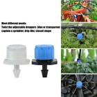 10 X Adjustable Emitter Dripper Micro Drip Irrigation Sprinklers Watering System