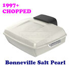 Bonneville Salt Pearl Chopped Tour Pack Luggage For 97-2020 Harley Street Road $769.0 USD on eBay
