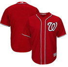 Washington Nationals Majestic Cool Base Team Jersey Red