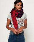 Superdry Womens Square Smock Scarf Size 1Size