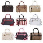 New Authentic Coach F83607 83607 Signature Rowan Satchel Handbag Crossbody Bag image