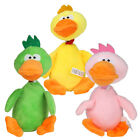 Pet Dog Puppy Plush Sound Chew Squeaker Duck Squeaky Cute Play Training Toy Gift