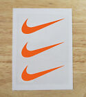 "Купить 3 Nike Iron On Swoosh Logos 2"" Inches Heat Transfer Vinyl HTV Matte"