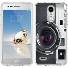 for LG Tribute Dynasty/Empire(Clear) Slim Flexible TPU Skin Phone Case Cover-H2