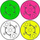 """White Water Archery 3d Scoring Solid Color 10 Ring ASA Bullseyes 5"""" Decals"""