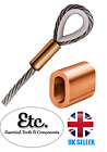 Copper Ferrule Talurit® Rope Crimping Sleeves 2mm 3mm 4mm 5mm 6mm 8mm 10mm