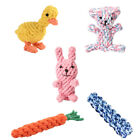 Cute Cotton Rope Dog Toys Bite Resistant Cleaning Teeth Puppy&Cat Chew Toys