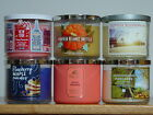 BATH  BODY WORKS THREE WICK SCENTED CANDLES W/ESSENTIAL OILS CHOOSE FREE SHIP