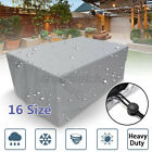 Extra Large Garden Rattan Outdoor Furniture Cover Bench Patio Table Protection