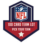 Lot of 100 football cards. You select your favorite NFL team. PICK YOUR TEAM! $7.99 USD on eBay