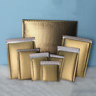 10x Poly Bubble Mailers Padded Envelope Foam Self-Seal Mailing Matte Bag Gold